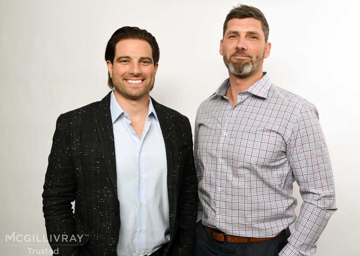 Scott McGillivray and Jordan McGregor